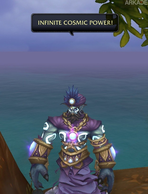 Homenagem a Robin Williams foi encontrada em World of Warcraft