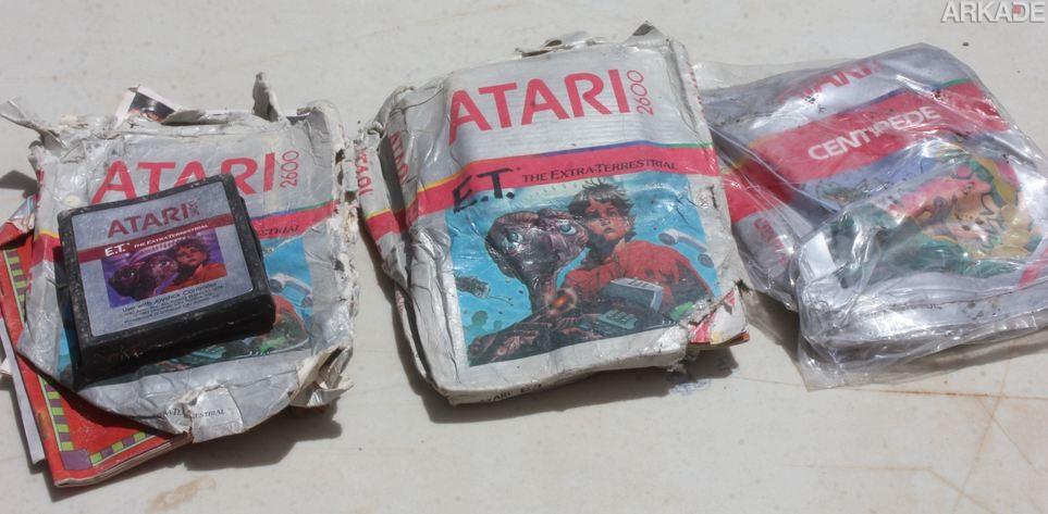 Que tal comprar um dos lendários cartuchos do E.T. que foram encontrados no deserto?