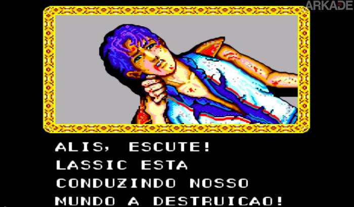 RetroArkade: O Master System tem um jogo épico (100% português!) e ele se chama Phantasy Star
