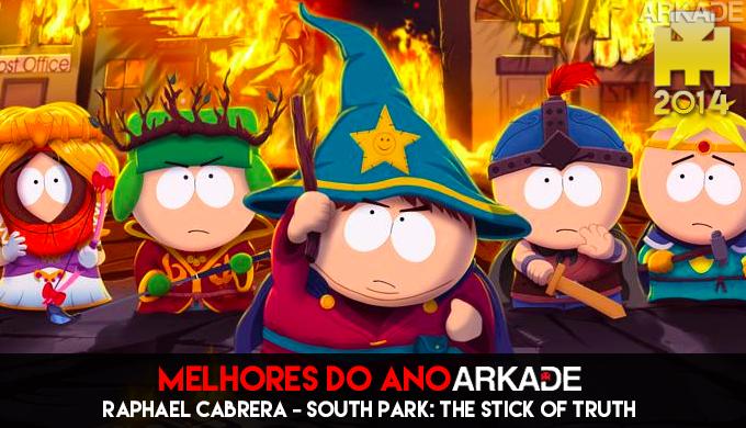 Especial Arkade Melhores Jogos do Ano: South Park: The Stick of Truth