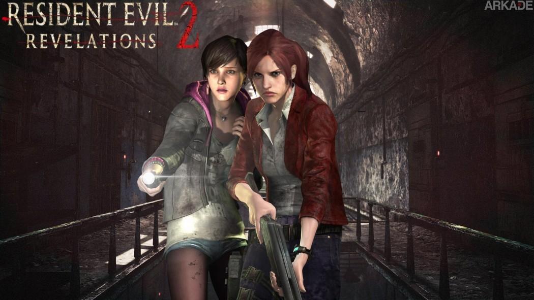 a tensão e o terror de Resident Evil Revelations 2 - Episódio 1: Penal Colony