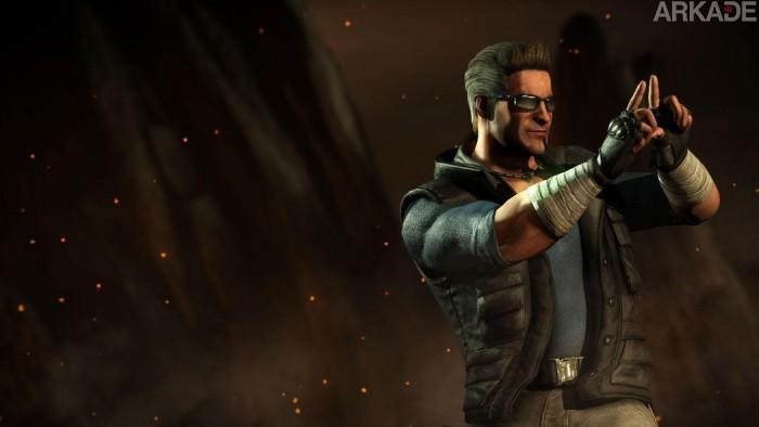 """Here's Johnny"": novo trailer de Mortal Kombat X confirma Johnny Cage e Sonya Blade"
