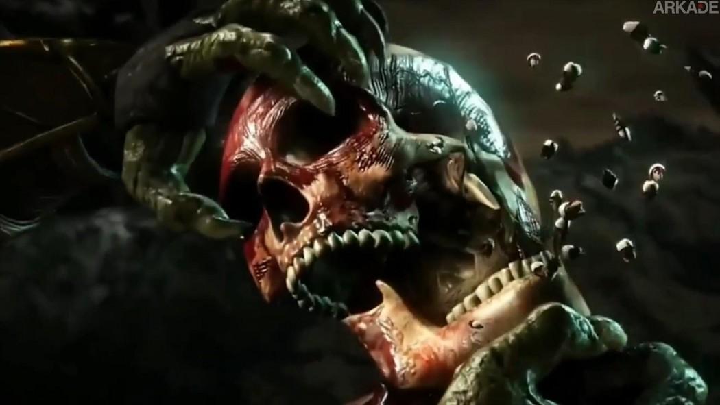 Mortal Kombat X: vídeo épico reúne (quase) todos os fatalities e x ray attacks mostrados até agora
