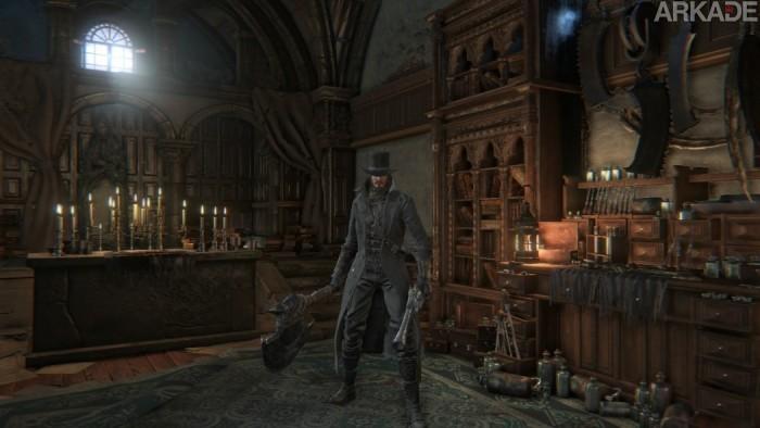 Análise Arkade: Sangue, mortes, cemitérios, feras e mais sangue no desafiador Bloodborne