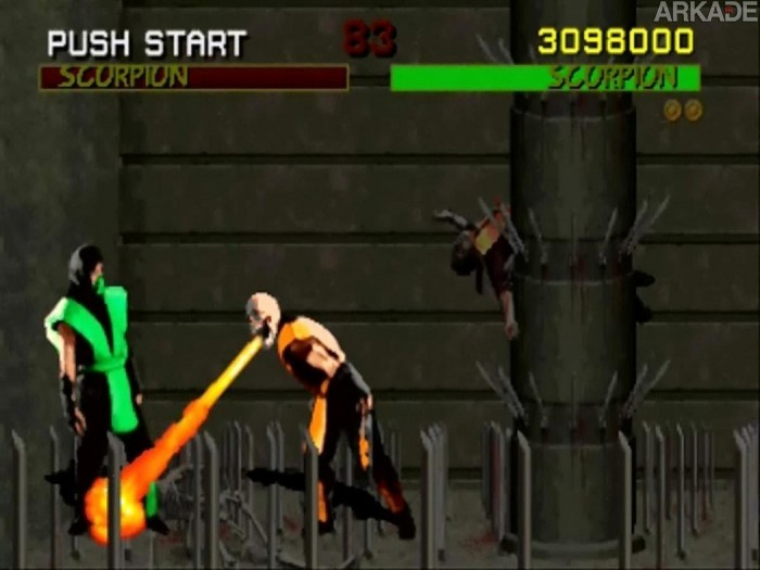 Mortal RetroArkade: Gente de verdade se matando marcou o primeiro MK
