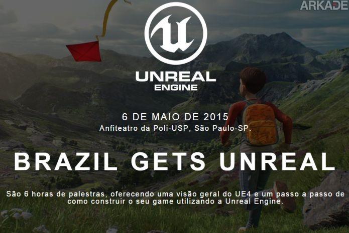 Saiba onde você pode acompanhar a Brazil Gets Unreal!