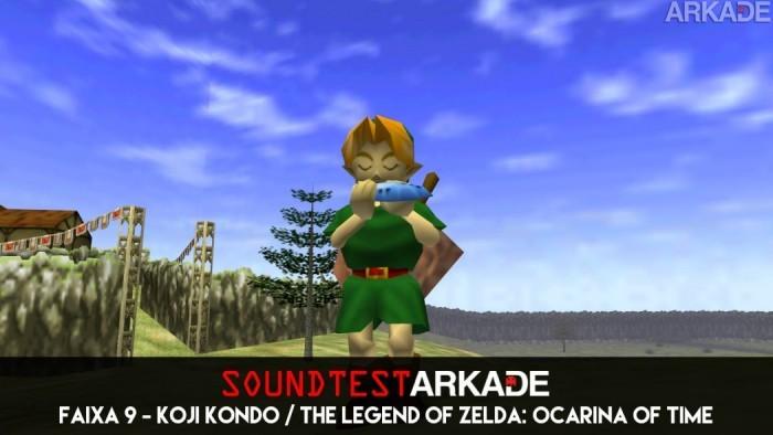 Sound Test Arkade Faixa 9 - Koji Kondo / The Legend of Zelda: Ocarina of Time