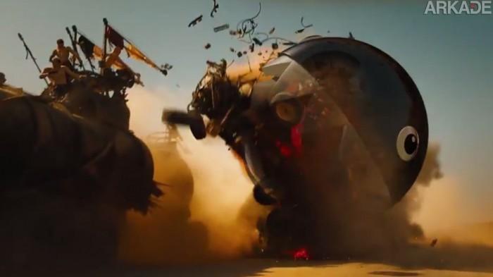 Sabe o que deixaria o novo Mad Max ainda mais legal? Power ups de Mario Kart!