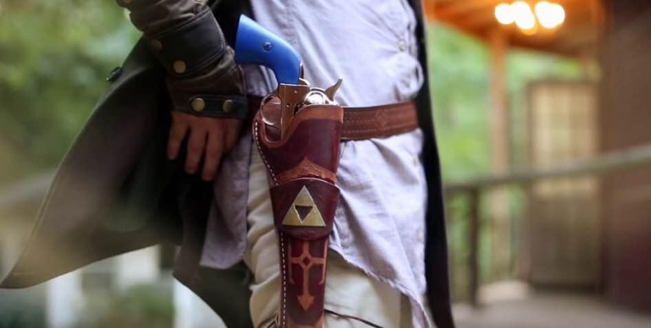 E se The Legend of Zelda fosse um faroeste? Este curta
