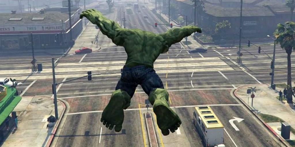 Hulk esmaga Los Santos em mais um mod insano de GTA V!