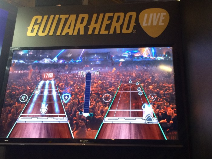 BGS 2015: O Rock'n Roll está de volta em Guitar Hero Live