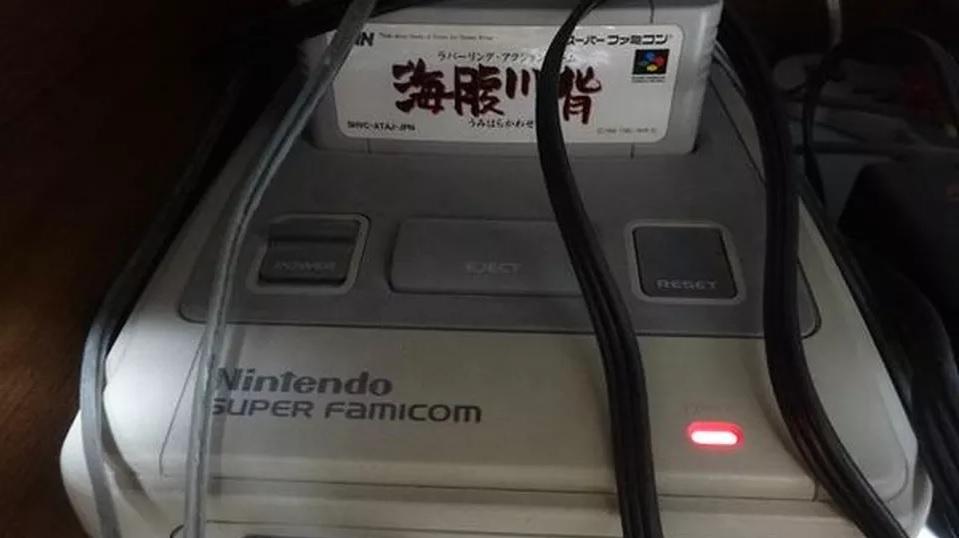 Um japonês deixou seu SNES ligado por 20 anos para não perder o save