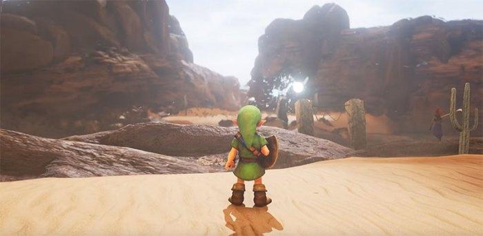 Veja como ficaria The Legend of Zelda: Ocarina of Time se fosse recriado na Unreal Engine 4