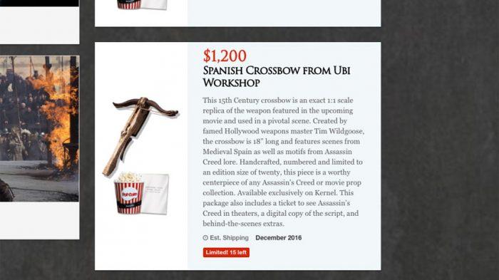 Ubisoft fará pré-venda de ingressos para o filme de Assassin's Creed de até U$ 1200,00!