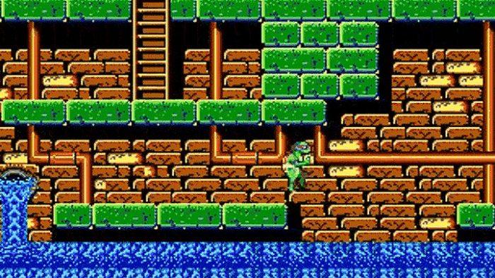 Era impossível zerar este jogo das Tartarugas Ninja sem trapacear