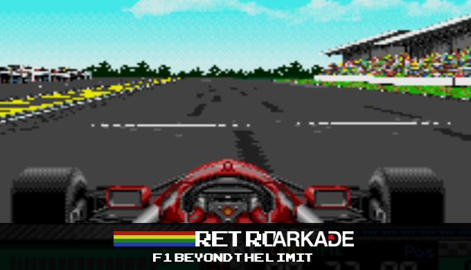 RetroArkade: Os bons tempos de F1 em Beyond the Limit para Sega CD