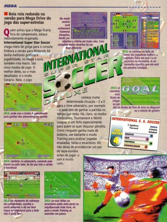 RetroArkade: As versões esquecidas de International Superstar Soccer Deluxe
