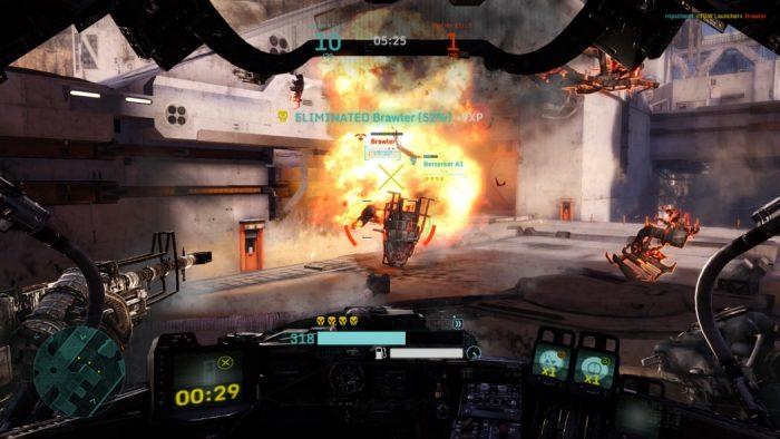 Análise Arkade: O tiroteio entre mechs do free-to-play Hawken