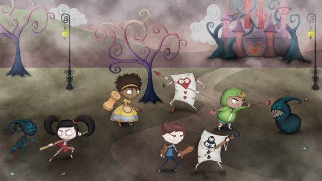 Conheça Nevermore, beat 'em up brasileiro que explora as versões originais dos contos de fadas
