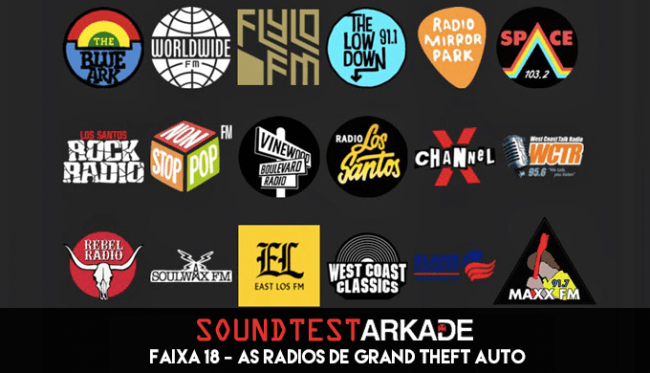 Sound Test Arkade Faixa 18 - As rádios de Grand Theft Auto