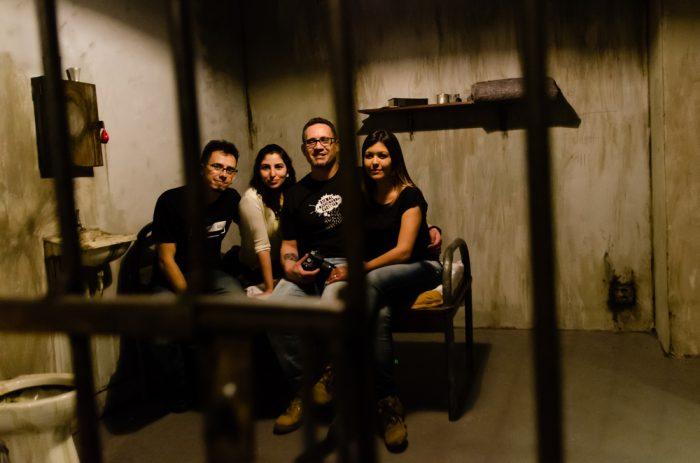 Arkade Fora da Caixa: tentamos escapar de Alcatraz no Escape Box... e falhamos