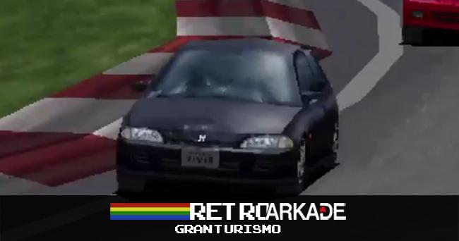 RetroArkade: Venha correr de novo nas pistas originais de Gran Turismo!