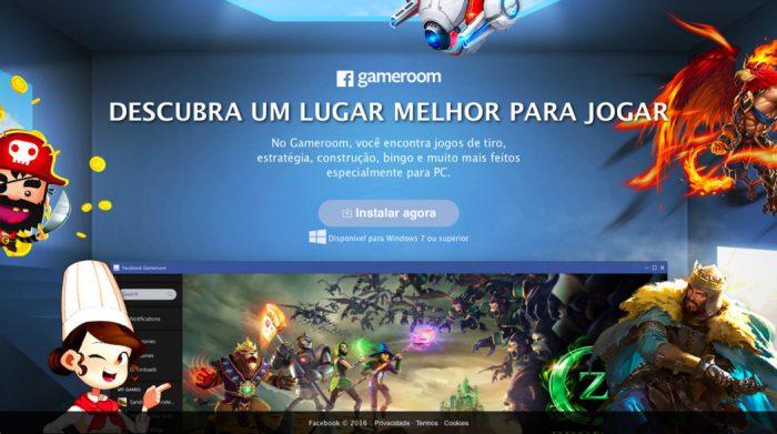 Está no ar a Gameroom, a plataforma de games do Facebook