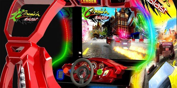 Cruis'n Blast e Daytona: clássicos de corrida dos anos 90 irão retornar aos arcades!