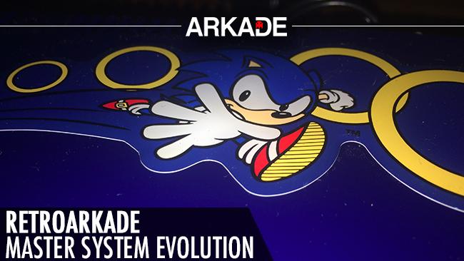 RetroArkade: Jogamos o Master System Evolution da Tectoy