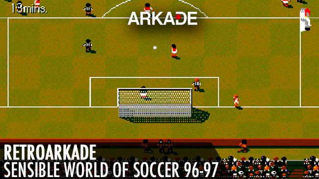 RetroArkade GOG - O completo mundo do futebol de Sensible World of Soccer 96-97