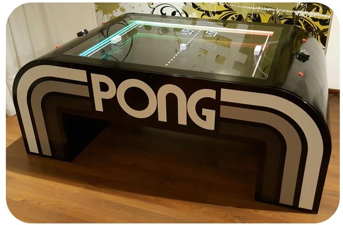 Conheça a mesa que transformou Pong em um jogo físico