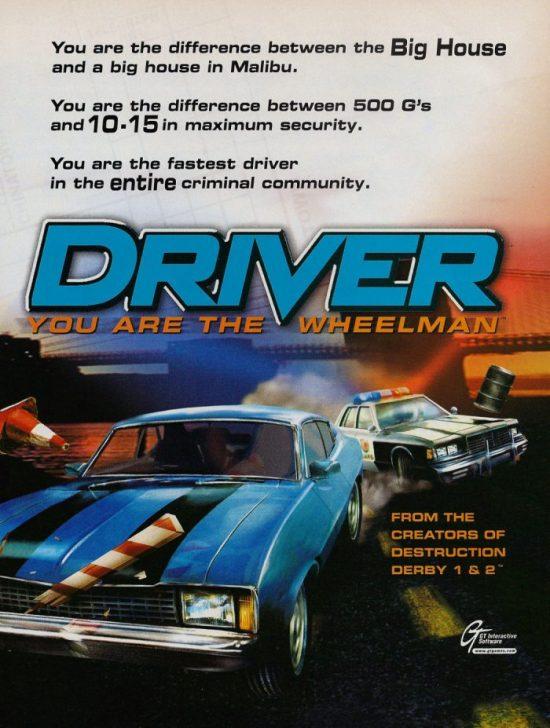 RetroArkade: Driver e o início da era das perseguições nos games
