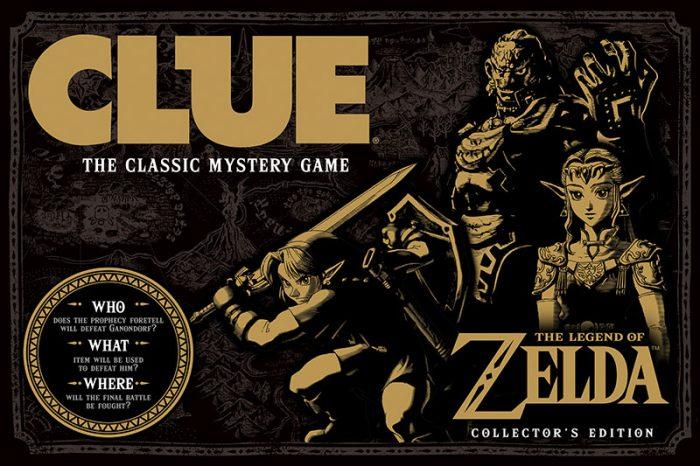 """The Legend of Zelda ganhará sua própria versão de """"Detetive"""" em tabuleiro"""