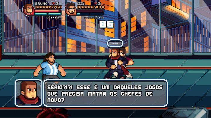 Além do Review Arkade: 99Vidas O Jogo é uma declaração de amor aos beat 'em ups de antigamente