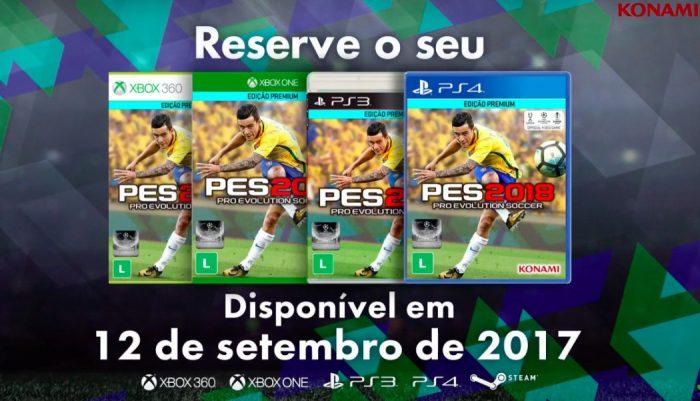 PES 2018 terá Philippe Coutinho na capa, Vasco exclusivo e Romário como lenda