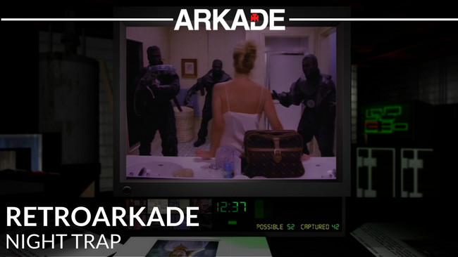 RetroArkade: Night Trap, 25 anos depois, continua tosco, trash e curioso