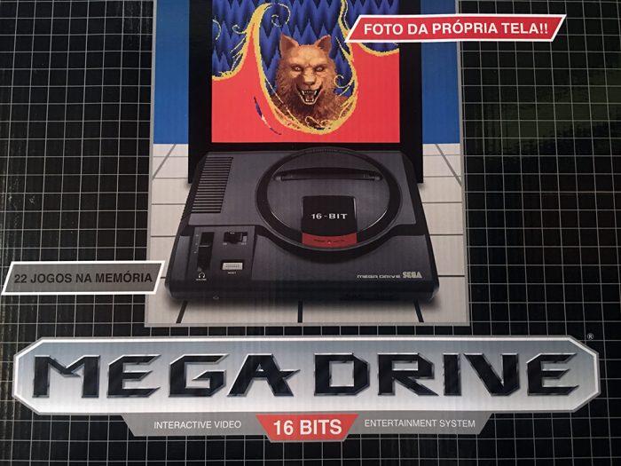 RetroArkade: Conhecemos e jogamos o Mega Drive da Tectoy