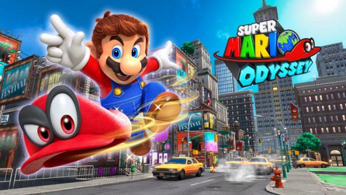 Lançamentos da semana: Super Mario Odyssey, Assassin's Creed Origins e mais
