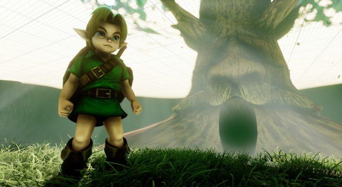 Fã recria trechos de Zelda Ocarina of Time na Unreal Engine 4, e o resultado é espetacular!