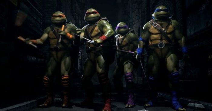 As Tartarugas Ninja irão invadir a pancadaria de Injustice 2!