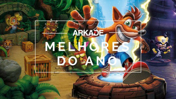 Melhores Jogos do Ano Arkade 2017: Crash Bandicoot N. Sane Trilogy