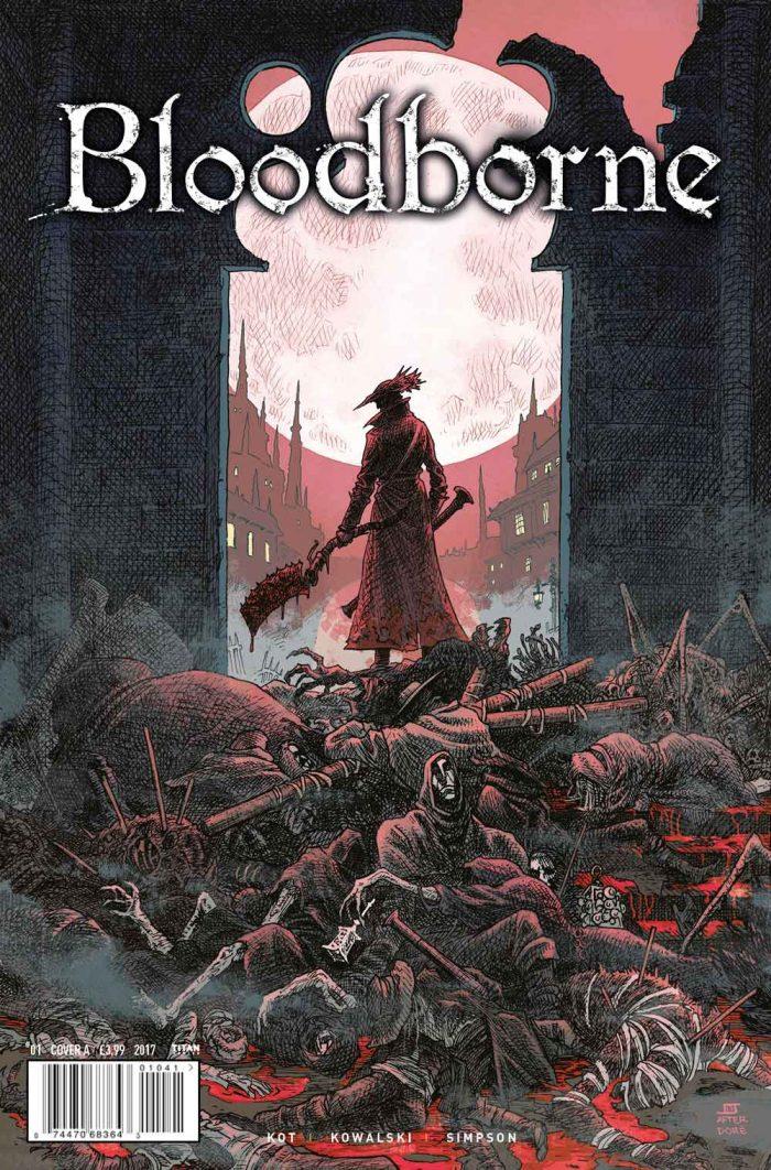 Bloodborne: The Death of Sleep - Aprecie agora a algumas páginas e capas alternativas da HQ