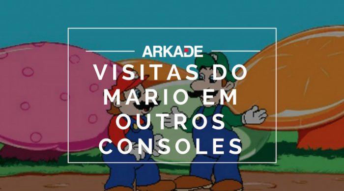RetroArkade: Você sabia que o Mario já fez algumas visitas fora da Nintendo?