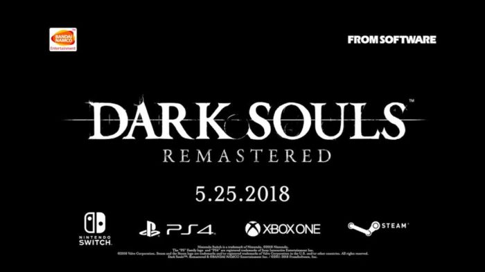 Prepare-se para morrer, de novo! Bandai Namco anuncia Dark Souls Remastered para PC, PS4, Xone e Switch!