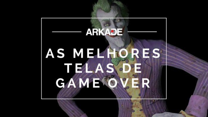 Top 10 Arkade: As melhores telas de game over de todos os tempos