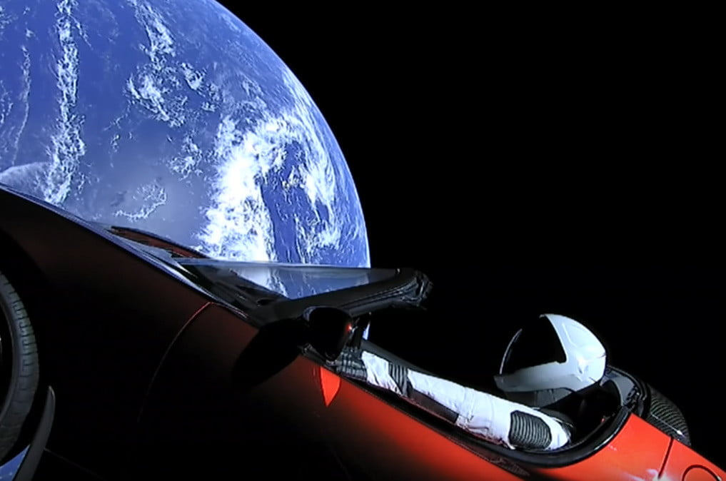 Site permite que você acompanhe Starman e o Tesla de Elon Musk pelo espaço - Arkade