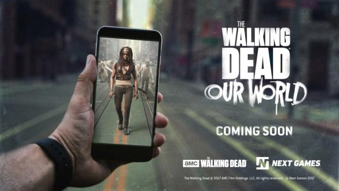 """The Walking Dead: Our World - Dê só uma olhada no gameplay do """"Pokémon Go"""" de zumbis"""