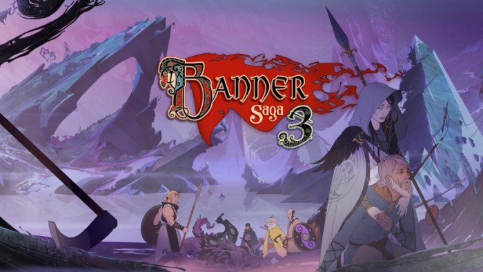 The Banner Saga 3 ganha data de lançamento e série será relançada em formato físico