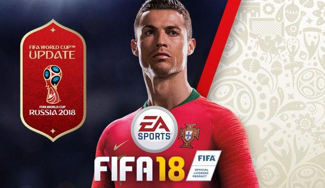 A Copa do Mundo na Rússia chega ao FIFA 18 em forma de DLC gratuito