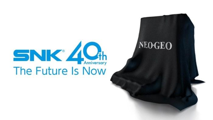 SNK anuncia novo console para celebrar seus 40 anos!